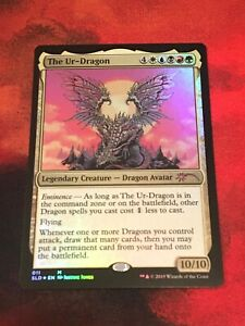 FOIL The Ur-Dragon SECRET LAIR Kaleidoscope MTG magic the gathering Pack Fresh!