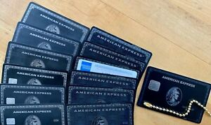 Genuine American Express Centurion/Black Cards-Newest+6 Plastic+6 Titanium
