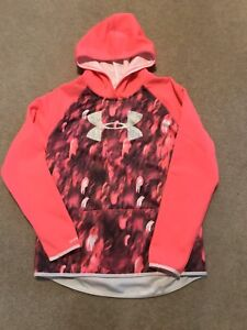 VGUC Under Armour Storm Hoodie Youth XL Pink Camo $19.99