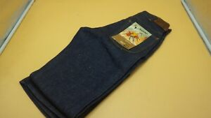 Mens Vintage Blue RanchCraft Jeans 100% Cotton Western 1960's 28x33 Cowboy New