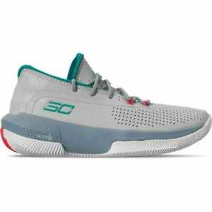 Big Kids Under Armour SC 3ZER0 III Basketball Shoes 3022117-101 Youth Size 4.5