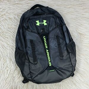 Under Armour Contender Backpack X Storm Camo Black Gray Green School Bag Sport