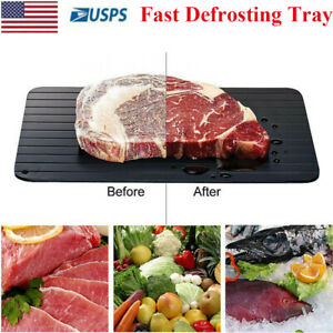 Fast Defrosting Tray Rapid Thawing Board Safe Defrost Meat Frozen Food Plate