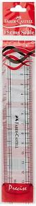 6 inch 15 cm FABER CASTELL Acrylic Plastic Ruler Straight Ruler Scale B2G1 FREE $2.99