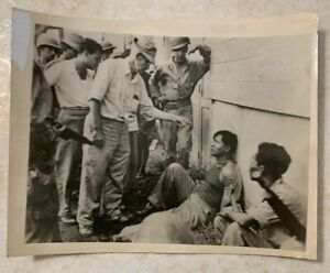 WW2 Original ACME Telephoto Unknown Phillipines? Spy or Traitor?