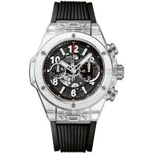 Hublot Big Bang UNICO 45mm Mens Watch 411.jx.1170.rx Magic Sapphire