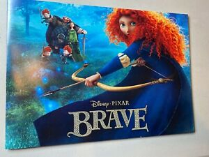 2012 Disney Store Exclusive Commemorative Lithograph Set of 4- Brave