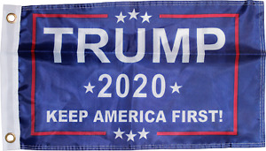 DONALD TRUMP 2020 Keep America First FLAG 3x5 Double Sided 150D NY