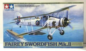 Tamiya Fairey Swordfish MK II 1 48 Scale NEW Open Box Complete