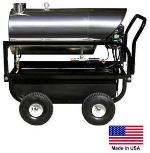 WATER HEATER for Cold Water Pressure Washers - 115V Diesel Burner - 4 - 6 GPM