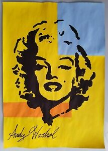 ANDY WARHOL HAND SIGNED.