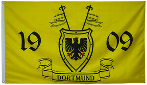 Borussia Dortmund 1909 Football Flag Banner 3X5Feet