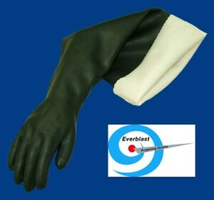 All Natural Rubber Seamless Gloves - Length 31