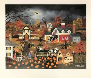Jane Wooster Scott Signed & Numbered LED Lithograph
