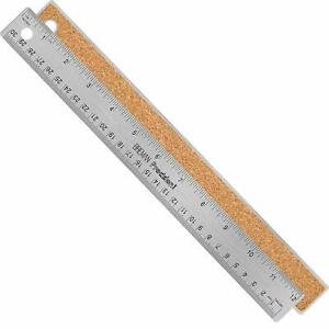 Breman Precision Stainless Steel Metal Ruler Straight Edge Ruler With Inch And $12.18