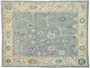 New Contemporary Oushak Design Transitional Area Rug