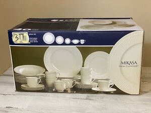 Mikasa Italian Countryside Dinnerware 37 Piece Set New Open Damaged Box