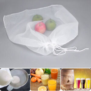 100/200/300 Mesh Brew Bag With String Wine Beer Soy Milk Home Brew Coffee Filter
