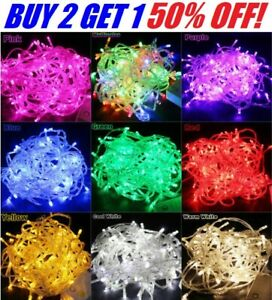 10M 100 LED Christmas Tree Fairy String Party Lights Xmax Waterproof Color Lamp