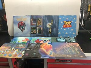 LOT of 10 Disney Store Exclusive Commemorative Lithograph Lithographs $65.00