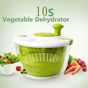 Food Dehydrators SaladVegetable Fruit Fast Drain Strainer Basket Kitchen Tool