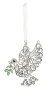 Ganz Crystal Expressions Peaceful Dove Ornament