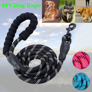 1PC Training Handle Pet Dog Leash Training Rope Leather Dogs Acces
