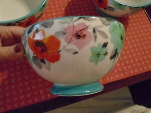 Set of 3 'The Pioneer Woman' Flea Market Floral Teal 6