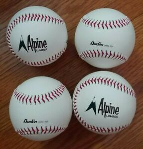 Baden Autograph Baseballs Lot of 4 Official White $21.20