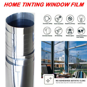 One Way Vision Window Film House Office Anti-UV Heat Insulation Privacy Control