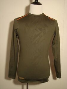 Under Armour Combine Training Shadow Camo Cold Gear Green Long Sleeve Small NWOT $22.99