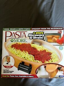 nib pasta n more 5 in 1 perfect non stick pasta cooker as seen on tv