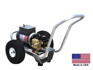 PRESSURE WASHER  Electric  Direct Drive  3 GPM  3500 PSI  7.5 Hp  230V 1 Ph  AR