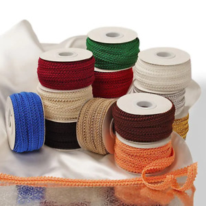 French Gimp Trim Upholstery SEWING craft ribbon bolt 10 yard 5 8 3 8quot; COLORS $5.99