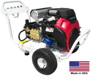 PRESSURE WASHER Commercial - Portable - 4 GPM - 4000 PSI - 13 Hp Honda - HP