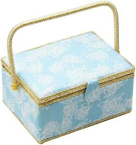 Large Sewing Basket with Accessories Sewing Organizer Box with Supplies DIY Sewi $50.99
