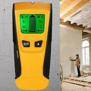 Electric Metal Wood Studs Scanner Detector Wire Detect Wall AC Voltage Live