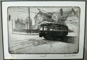 Richard Pantell etching