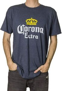 Corona Extra Men#x27;s Crown Logo T Shirt New With Tags Size Large