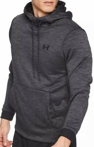 Under Armour Mens Fleece Twist Pull Over Hoodie Coldgear 1320751 Small $34.99