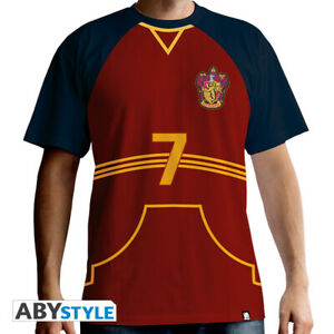 HARRY POTTER Quidditch jersey Mens Red premium T Shirts Double XL GBP 21.68
