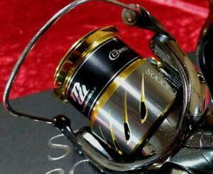 Shimano 14 STELLA S3000SDH Good Condition Spinning reel Boxed +manual