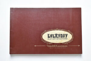 1960s Valdes Everyday Clip Art Situations Vintage Advertising Design Book Rare $425.00