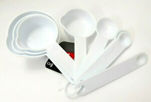 BRAND NEW COOKING CONCEPTS MEASURING CUPS & SPOONS 8 PC SET