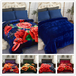 Solid Color Super Soft Micro-Plush Bed Blanket Warm Light Weight All-Season
