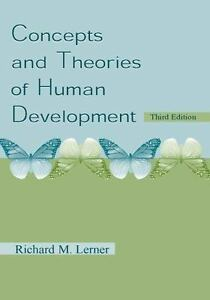 Concepts and Theories of Human Development, Lerner, Richard M., Good Book