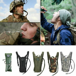 3L Water Bladder Bag Tactical Military Hiking Camping Hydration Backpack Outdoor $13.99