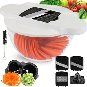 6 in 1 Mandolin Slicer Kitchen Food Fruit Vegetable Cutter Chopper Blades Tools