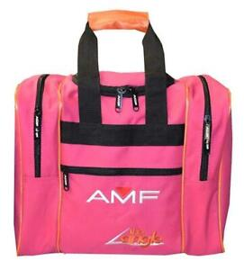 AMF The Angle Single Deluxe Tote Pink Orange Bowling Bag $19.95