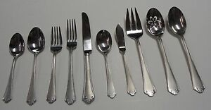 Reed & Barton ASHLAND MATTE ~ CHOICE PIECE~ Fork, Spoon, Knife, Serving, Salad
